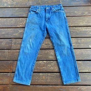 Wrangler straight fit jeans vintage look